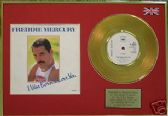 "FREDDIE MERCURY(Queen) - Gold Disc 7""with cover - I WAS BORN.."